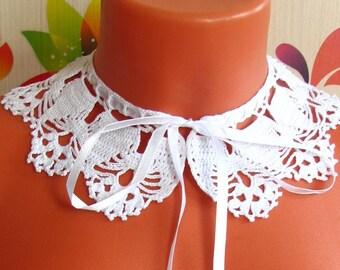 Воротничок Детский crochet collar