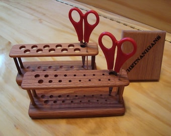 SlimLine Crochet Hook Stand / Hook Holder; Comfort or Standard Grip --  ** NEW from Chetnanigans **