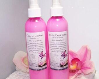 BODY SPRAY ~ Happy type scented Body Spray 8 oz Bottle ~ Moisturizing Body Spray Lotion