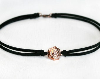 Rose Choker (Many colors to choose)