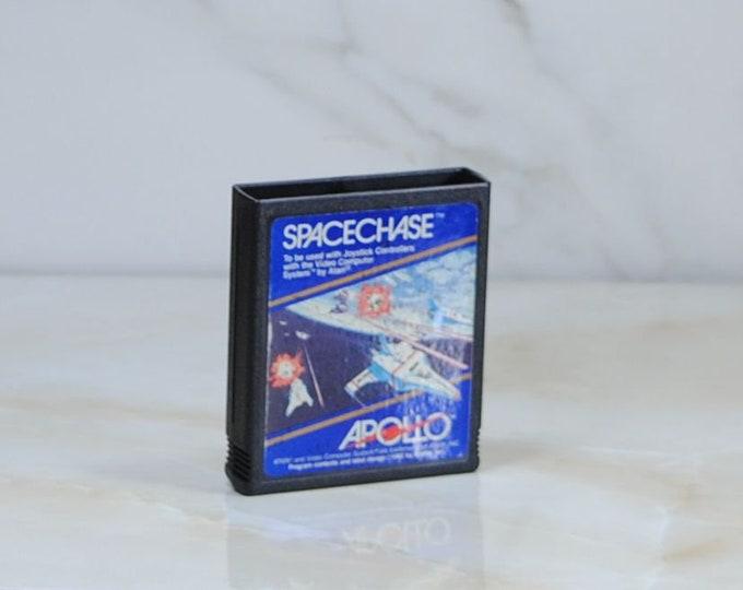 Vintage Atari 2600 Spacechase Game, Apollo, 1981, Video Game, Atari Game, Atari Console, Cartridge, Vintage Game, Retro Game, Shooter Game