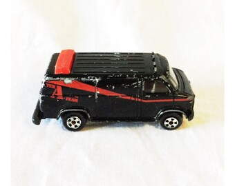 Vintage Ertyl A Team Diecast Van