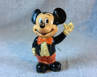 Vintage Walt Disney Productions Mickey Mouse Coin Bank