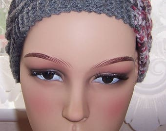 Headband, Hand knitted headband, Ear warmers, Hand knitted ear warmers, Cable hair tidy, Christmas gift, Ladies hair accessory,