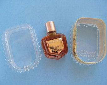 Jean D'Albret Ecusson Mini Perfume In Original Acrylic Box Full Vintage Miniature Fragrance Scent Bottle Paris France Unused Unopened Small