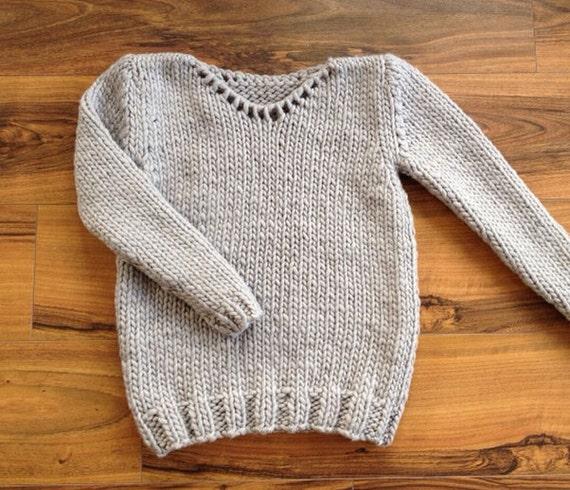 kit tricot pull debutant