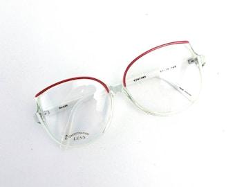 vintage. glasses. eye glasses. retro. for women. red. eyeglasses. oversize. vintage glasses. vintage eyeglasses. women. eyewear. plastic.