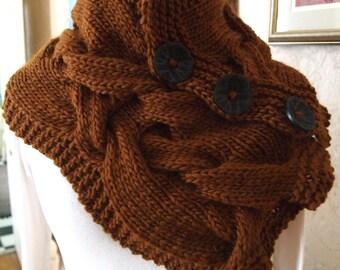 Hand Knitting Pattern Instant Download    -  Modern Twist pdf