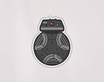BB-9E Decals | 3in | Star Wars | Weatherproof | Free US Shipping