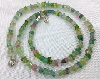 1 Strand Mix Color stunning Quality Tourmaline@PS58