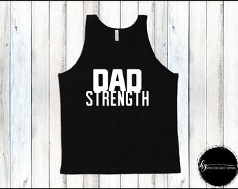 Dad Workout Shirt Dad's Muscle Tee Men's Gym Shirt Men Gym Tank Men's Workout Shirt Men's Lifting Shirt Men's Cutoff Gym Shirt Workout