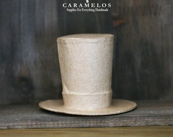 Kraft Paper Mache Top Hat