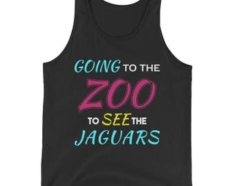 Going to the Zoo to See the Jaguars Tank Top