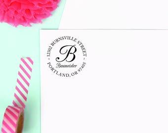 ADDRESS STAMP - Self Inking Return Address Stamp, Personalized Address Stamp  Custom Stamp Address Invitation & Wedding address Stamp, stamp