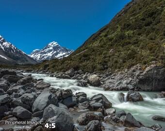 Mt. Cook Photo, Aoraki Print Art, New Zealand Landscape Photography, New Zealand Art, Aoraki Fine Art Prints; Aoraki/ Mt. Cook, New Zealand