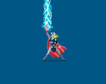 Marvel Pixel Art Series - Thor