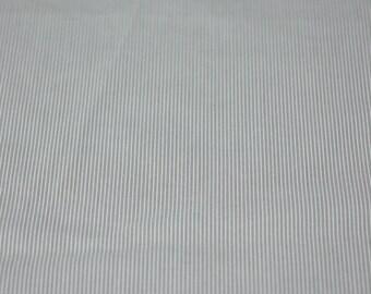 beige woven stripe cotton fabric