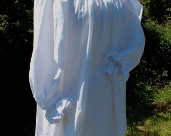 White Gypsy Blouse for LRP/LaRP