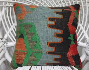 forest green lumbar pillow 16x16 pillows wool pillows decorative pillow cover cushions bright color pillow gypys pillow cover 3205
