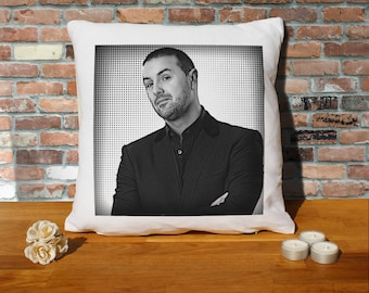 Paddy McGuinness Pillow Cushion - 16x16in - White