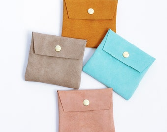 Small Suede Pouch