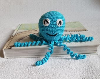 MADE TO ORDER, Crochet octopus amigurumi, stuffed octopus, preemie comfort toy, crochet octopus, octopus for preemie, baby shower gift