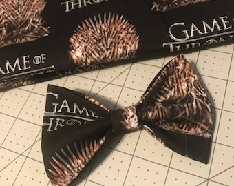 Game of thrones hair bow