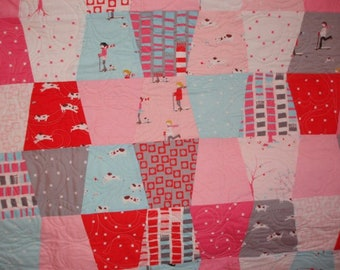 Baby Pips Quilt - Sherbet Pips fabric by moda