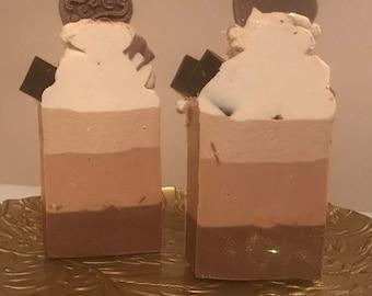 Chocolat milkshake Soap