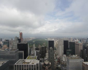 Central Park from Top of the world