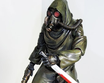 "CUSTOM 6"" FALLOUT Wasteland: Apocalyptic Survivor Action Figure NECA McFarlane Style"
