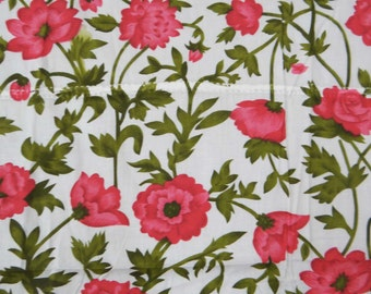 """Indian Designer Floral Pattern Printed Pure Cotton Fabric Sewing and Dress Making Fabric 40"""" Crafting Material By The 1 Yard ZBC5115"""