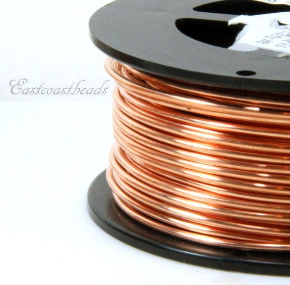 Copper wire 12 gauge dead soft solid copper wire jewelry quality copper wire 12 gauge dead soft solid copper wire jewelry quality copper wire jewelry wire wrapping high sold in 10 ft length greentooth Images