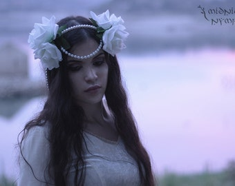 Lady of the Lake 'flower crown'