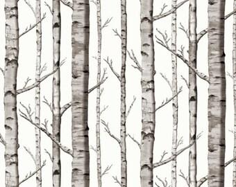 Crib Sheet Birch Trees. Fitted Crib Sheet. Baby Bedding. Crib Bedding. Minky Crib Sheet. Crib Sheets. Woodland Crib Sheet.
