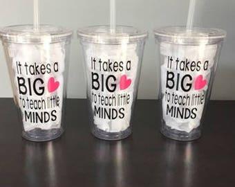 Teacher Gift | Tumbler for Teacher | Personalized Teacher Gift | Teacher Appreciation Gift | Teacher Cup | Custom Teacher Cup | Teachers