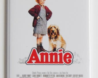 Annie the Musical Movie Poster Fridge Magnet