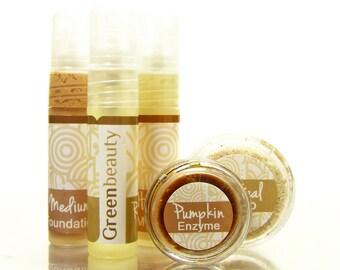 Sample Set, 5 different samples from Green Beauty, Natural Skin Care Samples, sampler set, beauty product set, natural beauty products