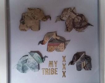 Design your own - Origami Elephant Frame