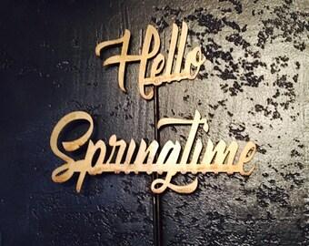 "Metal ""Happy Springtime"" Stakes"