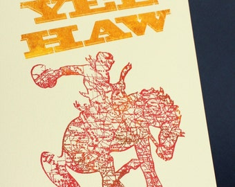 Yee Haw Limited-Edition Print 1/20