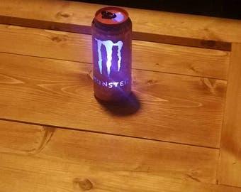monster energy drink can light,  christmas,  bidthday gift