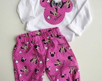Size 00 Minnie Mouse Harem Set
