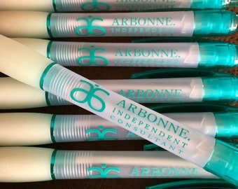 20 Teal Trim Pens with Arbonne Independent Consultant