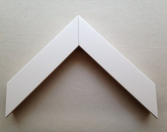 Custom White Wood Frame, Made to Order for Any Size Artwork