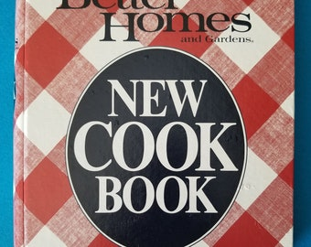 Vintage Better Homes and Gardens New Cookbook 1981