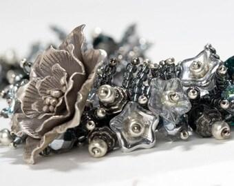 Rock Garden Floral Necklace