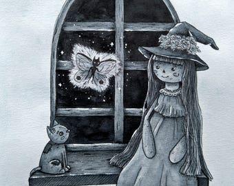 Rag doll witch