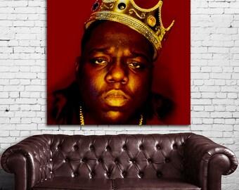 24 Poster Mural Notorious BIG Biggie Smalls Rap Hip Hop Print