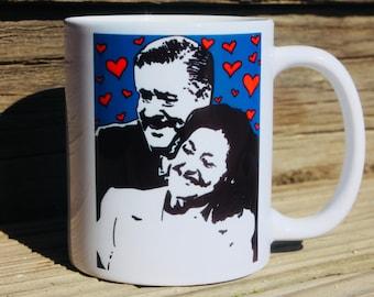 Richard and Emily Gilmore mug